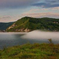 Туман над Ангарой :: Александр | Матвей БЕЛЫЙ