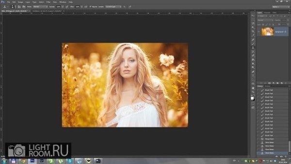 Цветовая коррекция фото за 5 минут