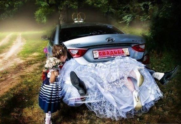 Свадебные фотографии, которые захочется спрятать и забыть