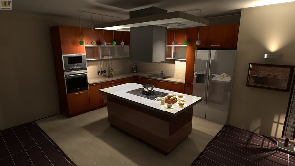 съемка кухни