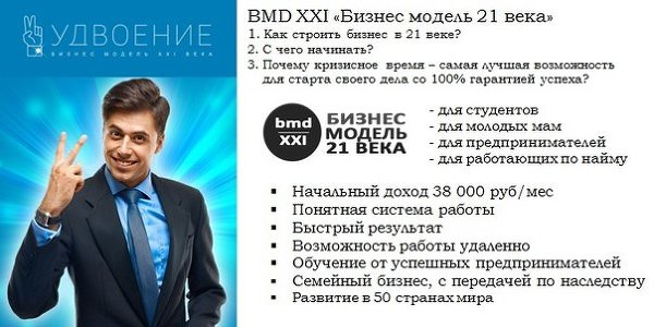 "Проект ""Бизнес-модель 21 века"""