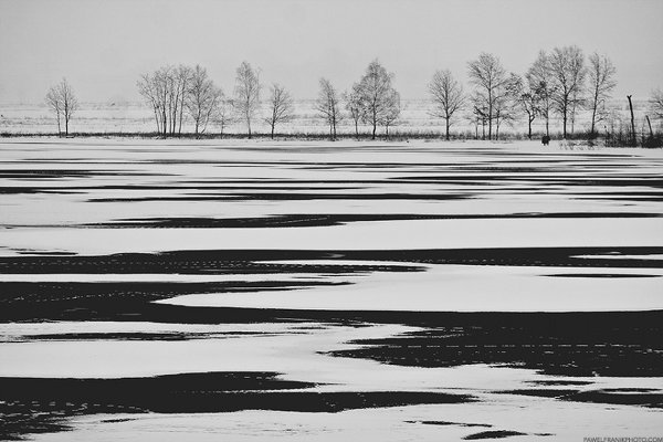 Красота минимализма в фотографиях Павла Франика