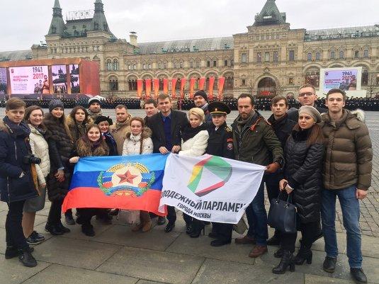 07.11.2017 76-я годовщина Военного парада на Красной площади.