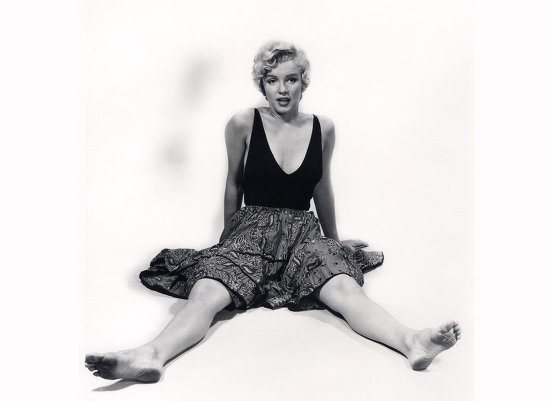 Мэрилин Монро на фотографиях Филиппа Хальсмана