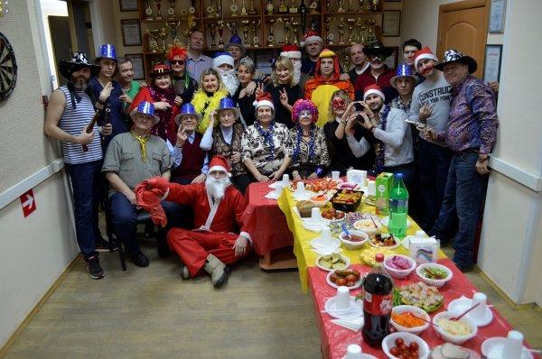 28.12.2017 Спортивный праздник для жителей района, посвященный встрече Нового года.
