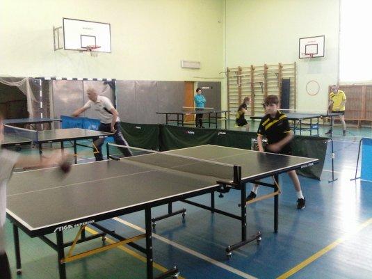 Семейный турнир «Мы любим настольный теннис»