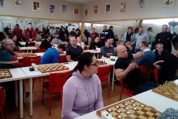 Окружные соревнования по шашкам в рамках Спартакиады «Спорт для всех»