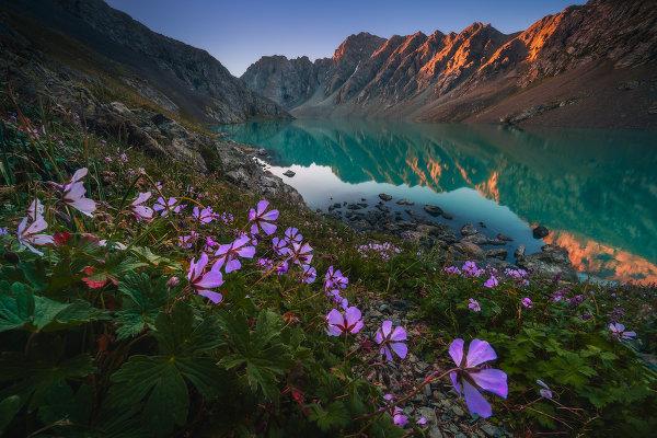 Потрясающие пейзажи Киргизии