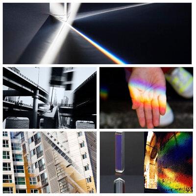 Как сделать креативные фотографии с помощью хрустальной призмы для спецэффектов