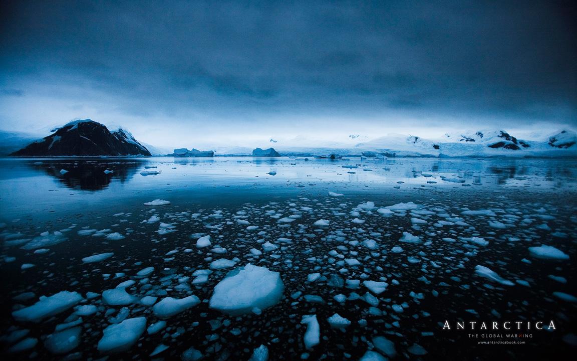 Загадочно спокойный мир антарктиды