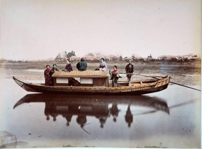 японская лодка фото