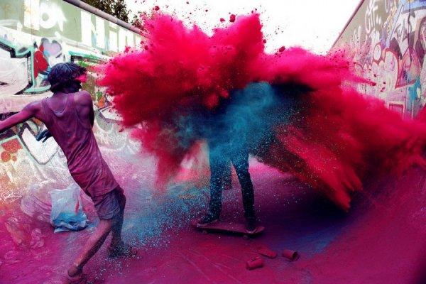 как фотографию сделать цветной