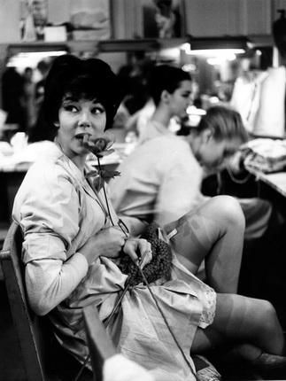 Робер Дуано. Гримерная Ланвин. Париж, 1958. © Atelier Robert Doisneau