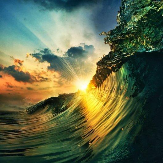 солнечный свет на земле
