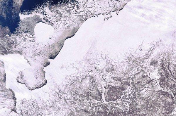 Россия из космоса