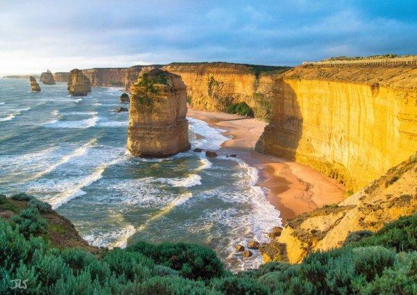 Захватывающие места - Двенадцать Апостолов, Австралия