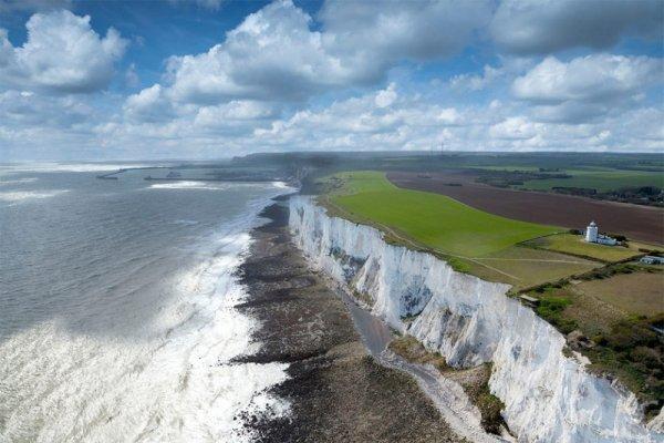 Захватывающие места - Белые клифы Дувра, Англия