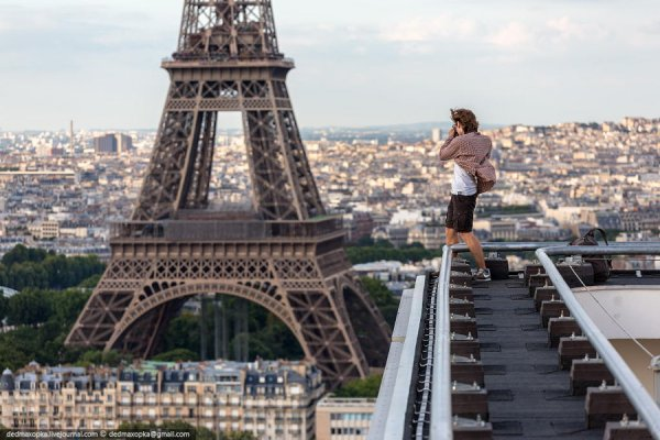 Профессиональный фотограф - Париж. Автор фото: Вадим Махоров