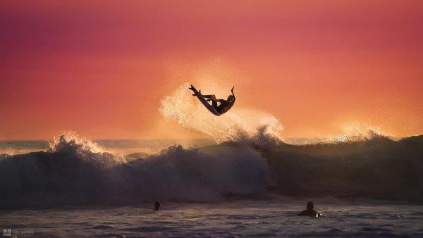 В воздухе. Автор фото: Джефф Дотсон - удачный кадр фото