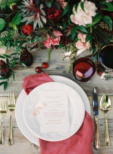 Свадьба в цвете МАРСАЛА - №11