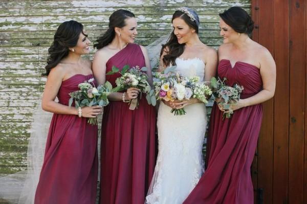 Свадьба в цвете МАРСАЛА - №1