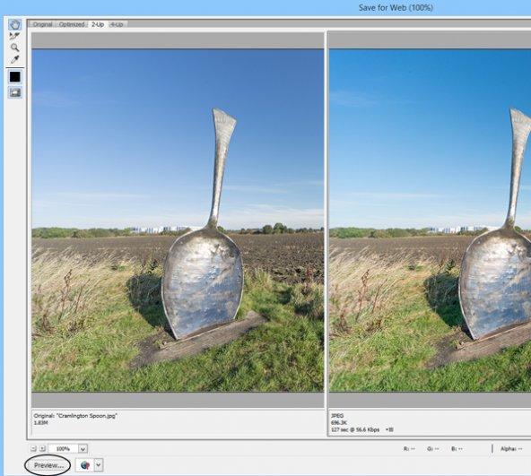 работа с программой Photoshop