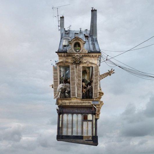 Laurent Chehere Flying Houses  STILL LIFE 2013