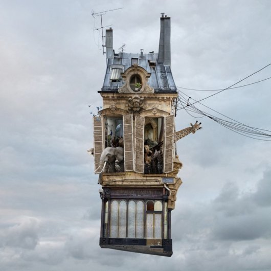 Laurent Chehere Flying Houses  STILL LIFE 2013