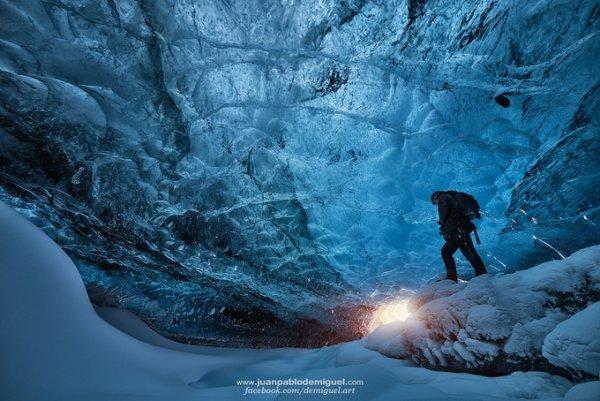 живописные пейзажи природы во льду