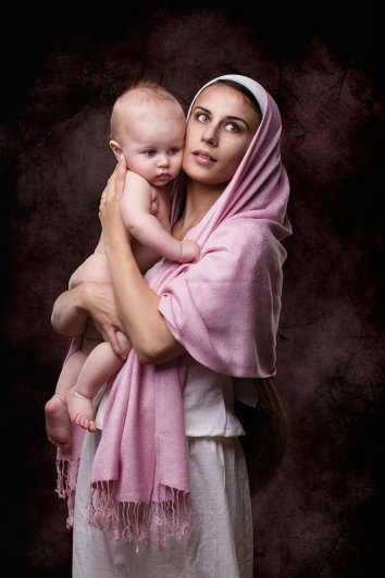 Мадонна с младенцем. Автор фото: Ольга Зимницкая