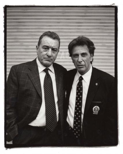 Портреты знаменитостей – Роберт Де Ниро (Robert De Niro)и Аль Пачино (Al Pacino)