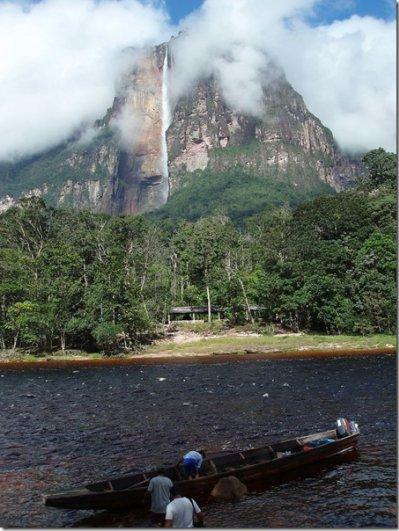 фото водопада Анхель 1
