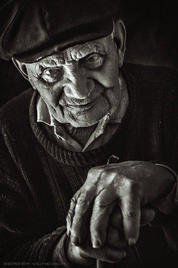 Дедушка. Автор: Сергей Вилькевич (Vilione)