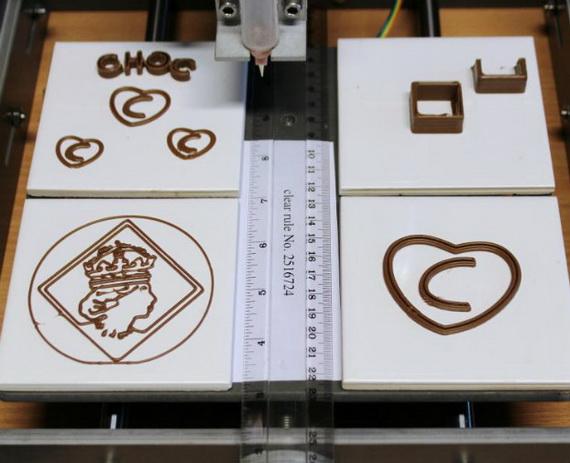шоколадный 3D принтер