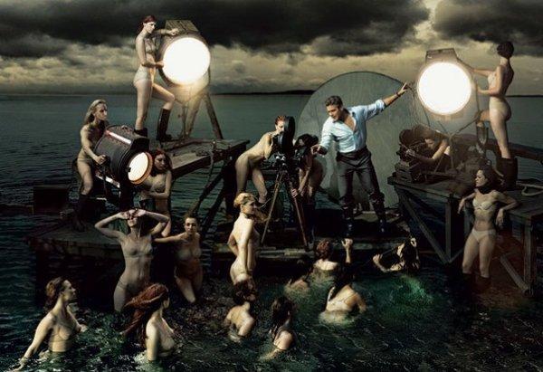 фотографии Энни Лейбовиц – джордж клуни