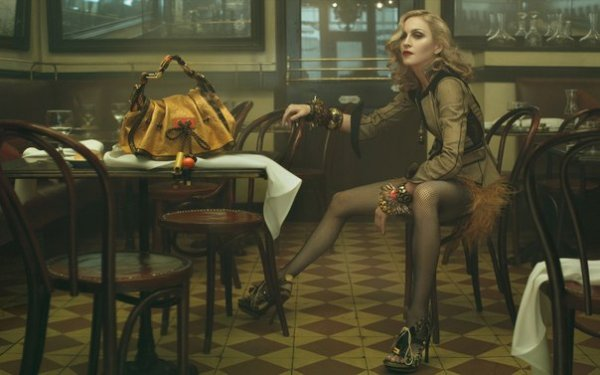 фотографии Энни Лейбовиц – Мадонна.