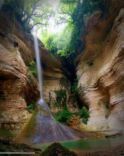 Шакуранский водопад