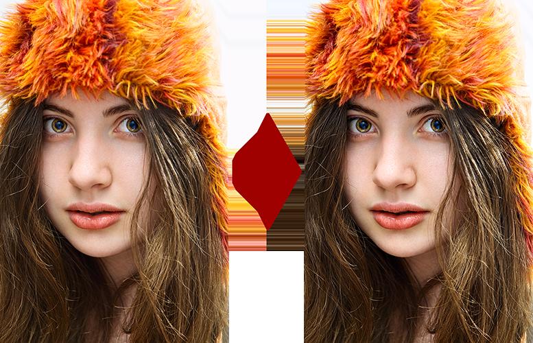 основы ретуши лица 10