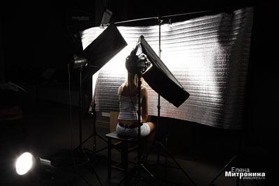 как поставить свет в студии 11