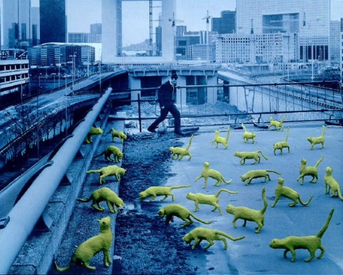 Баланс между фантазией и реальностью от фотографа Sandy Skoglund - №7