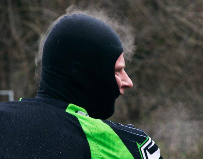 Фотография спортсмена зимой