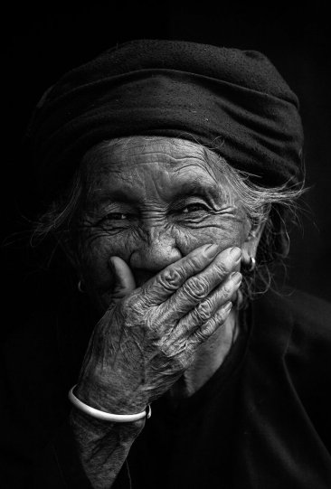 """Глаза людей и """"скрытая"""" улыбка в фотографиях французского фотографа Рехана - №24"""