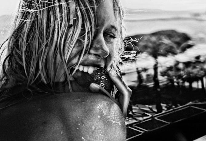 Стивен Лион: модельная фотосессия в знойных условиях. - №3