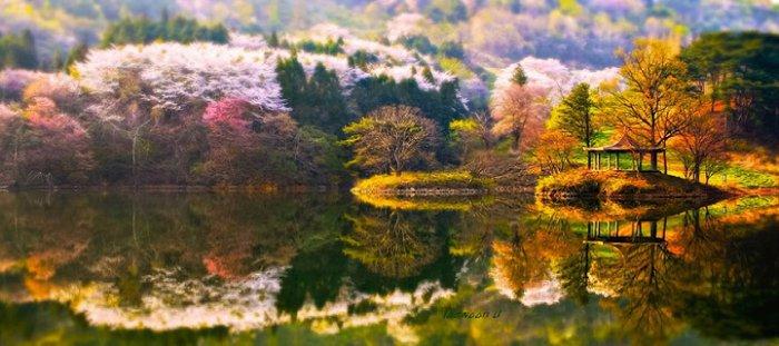 Зеркальные пейзажи Чже Вун Ю - №8