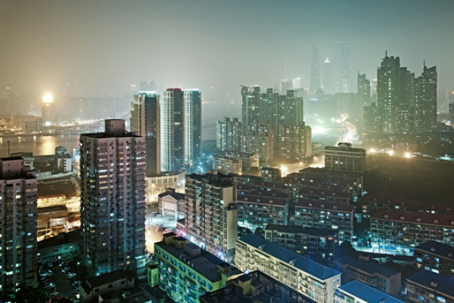 Aото городской пейзаж - Шанхай