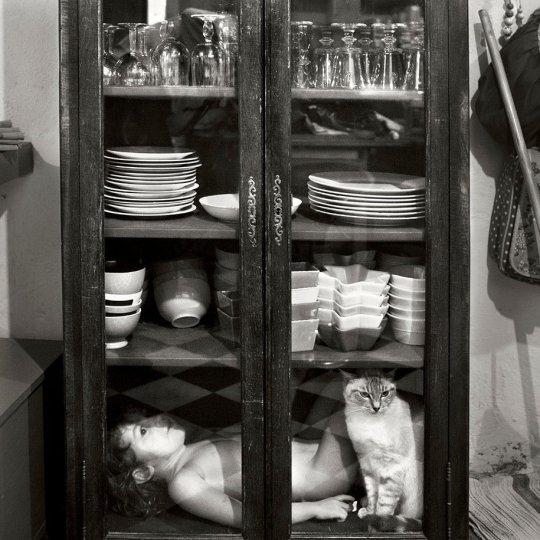 Семейные черно-белые фотографии Алена Лябуэля - №19