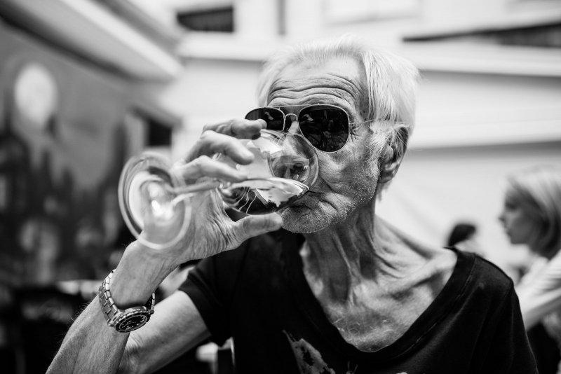 Черно-белая магия уличных портретов Джулио Магнифико - №10