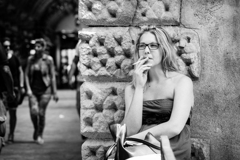 Черно-белая магия уличных портретов Джулио Магнифико - №18