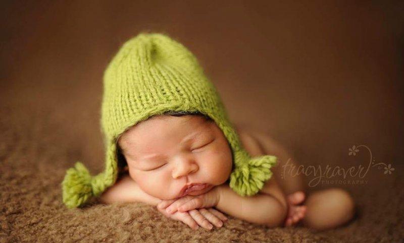 Спящие младенцы в фотографиях Трейси Рейвер - №7