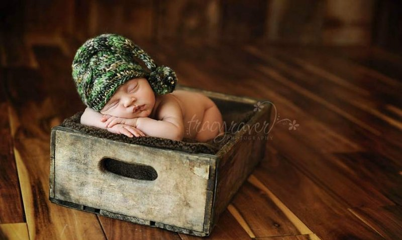 Спящие младенцы в фотографиях Трейси Рейвер - №23